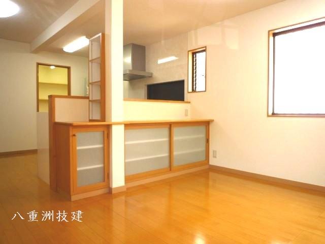 増築リノベーションダイニング(北九州市内施工事例)©八重洲技建