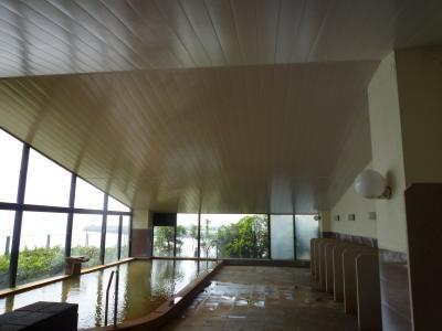7月10日大浴場天井貼り替え完工(長崎県島原市)