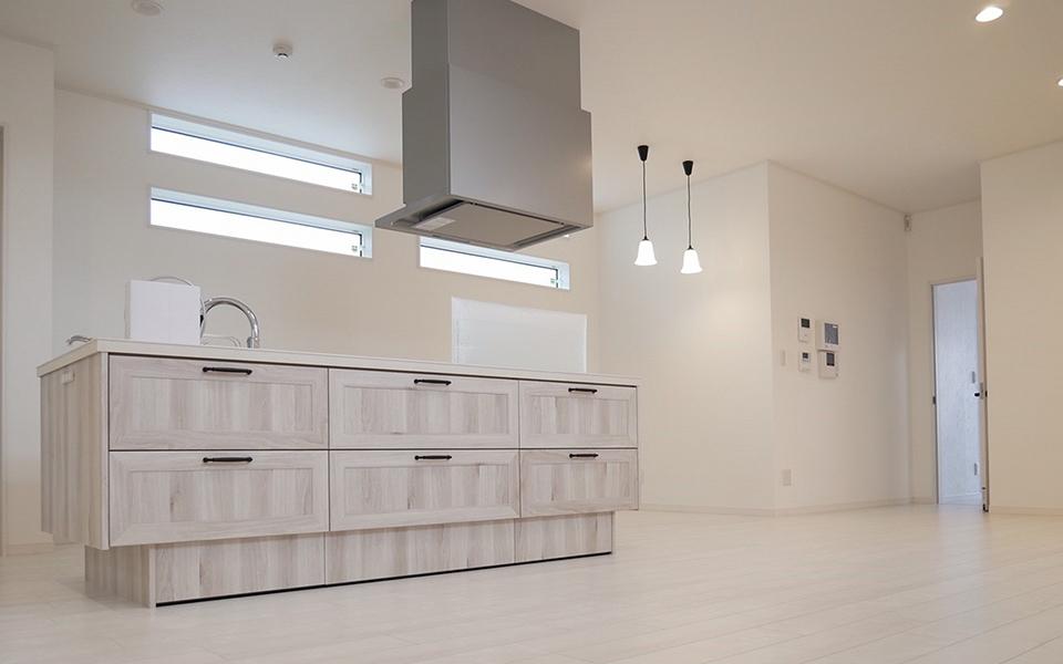 シンプルデザインの家 新築注文住宅