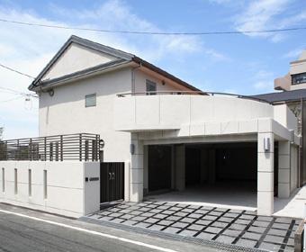 RC造住宅のテラス兼ガレージ工事 北九州市小倉南区