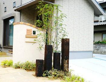 オープンスタイル外構(北九州市内施工事例)©八重洲技建