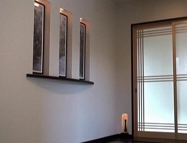 ニッチ飾り窓・和室建具(北九州市内工事例)©八重洲技建