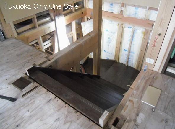 階段組み立て