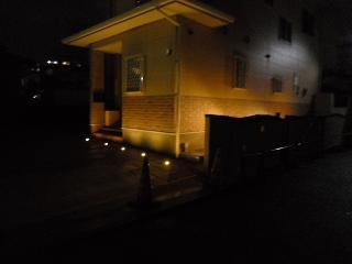 12月22日(水)  外構照明 夜の顔 北九州市小倉南区