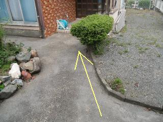 6月25日(土)雨水排水工事 北九州市小倉南区
