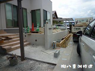 8月2日(火)新築外構 福岡市西区
