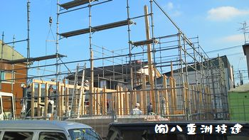 10月21日(金) 新築棟上げ 北九州市小倉北区