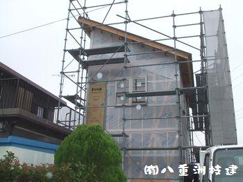 10月28日(金) 離れ新築 防湿シート 内部造作